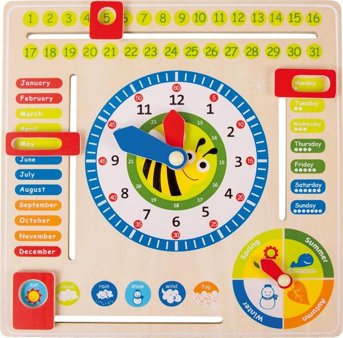 Joc Educativ Descopera Timpul si Anotimpurile 0