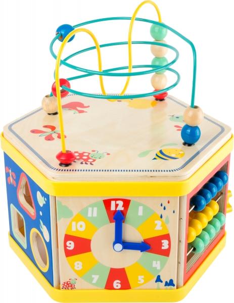 Cub de lemn educativ Energie si Miscare 0