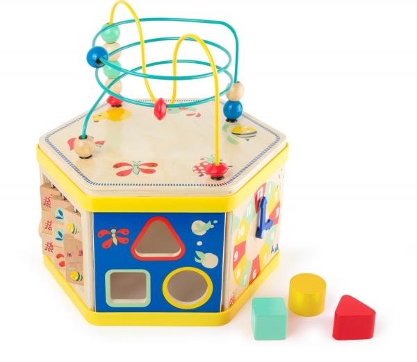 Cub de lemn educativ Energie si Miscare 3