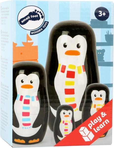 Familia de pinguini Matryoshka 2