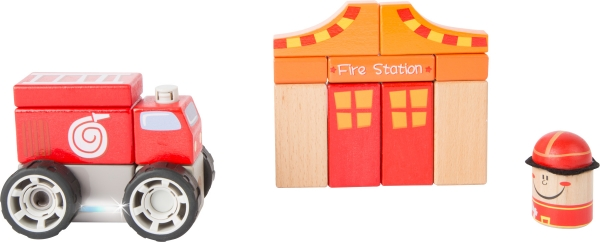Brigada de pompieri - set de construit cu sunet 3