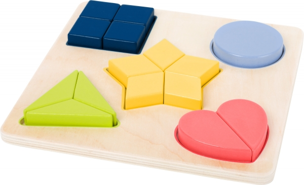 Puzzle educativ Potriveste Formele 2