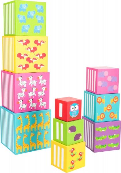 Cuburi de construit cu animale salbatice 1