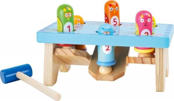 Joc Montessori ciocanel Prinde pasarea 1