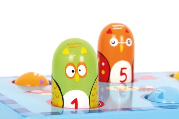 Joc Montessori ciocanel Prinde pasarea 2