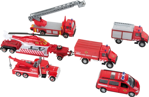 Set cadou vehicule pompieri 0