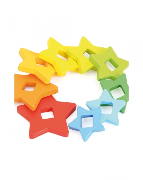 Piramide curcubeu Montessori 4