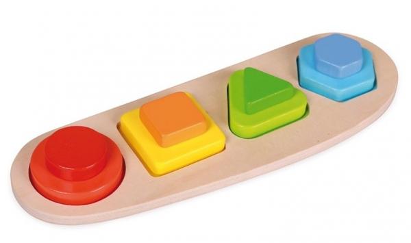 Puzzle 4 forme si culori 0