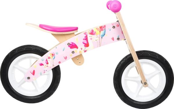 Bicicleta de echilibru Unicornul Roz 1
