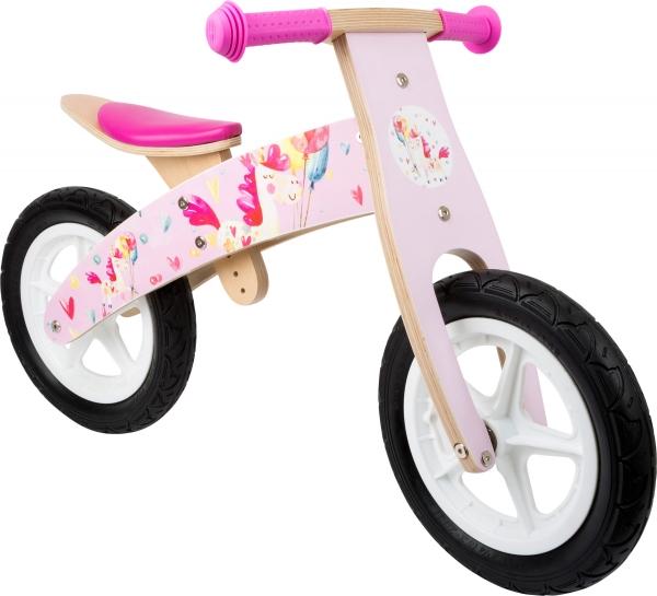 Bicicleta de echilibru Unicornul Roz 0