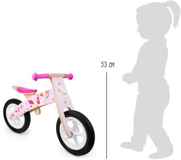 Bicicleta de echilibru Unicornul Roz 2