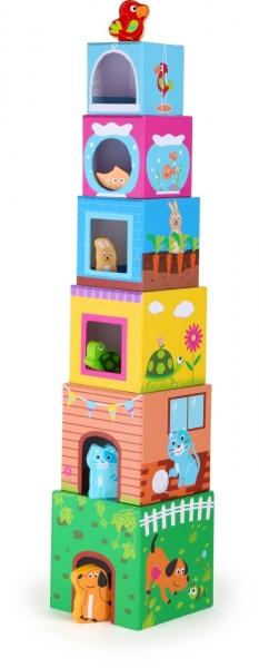 Cuburi de construit cu figurine 0
