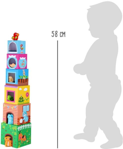 Cuburi de construit cu figurine 6