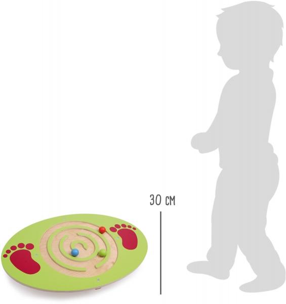 Placa de echilibru copii din lemn 3