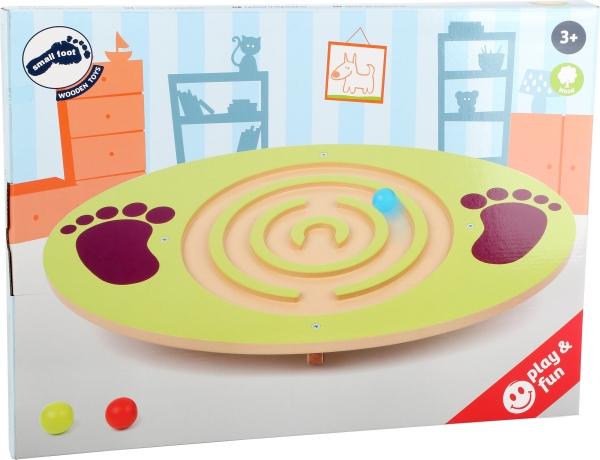 Placa de echilibru copii din lemn 2