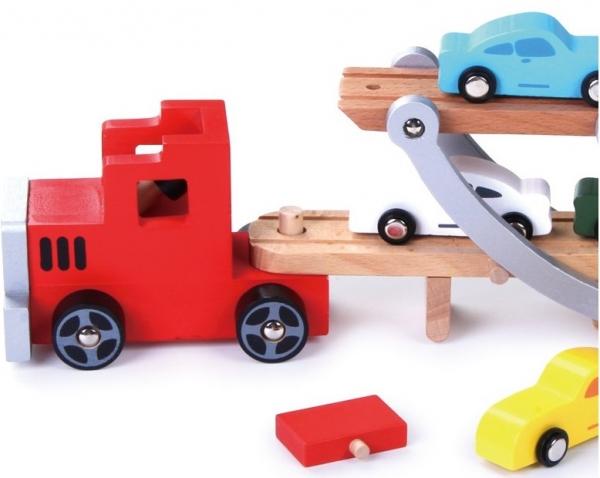 Platforma transport masinute din lemn 1