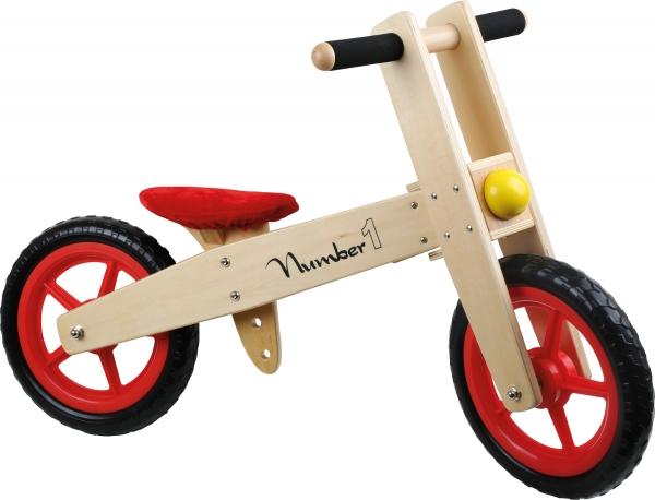 Bicicleta de echilibru din lemn 0