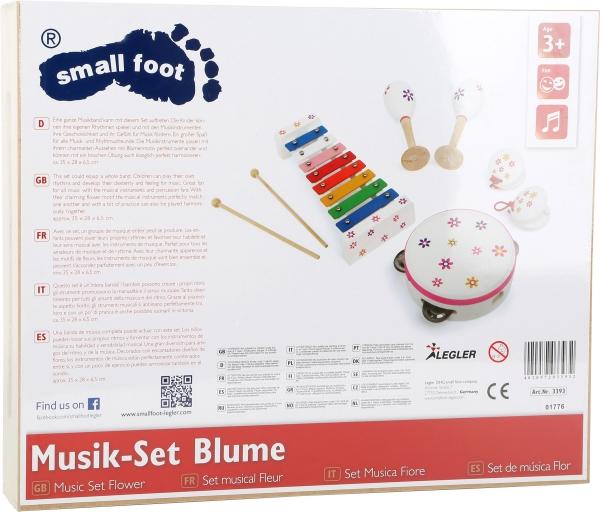 Set instrumente muzicale Floricele colorate 2
